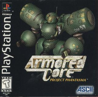 Screenshot Thumbnail / Media File 1 for Armored Core - Project Phantasma [U] SLUS-00670